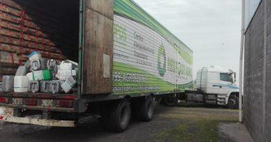 Retiro de envases de fitosanitarios
