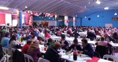 La UCR cerró la semana de Mayo con gran cena