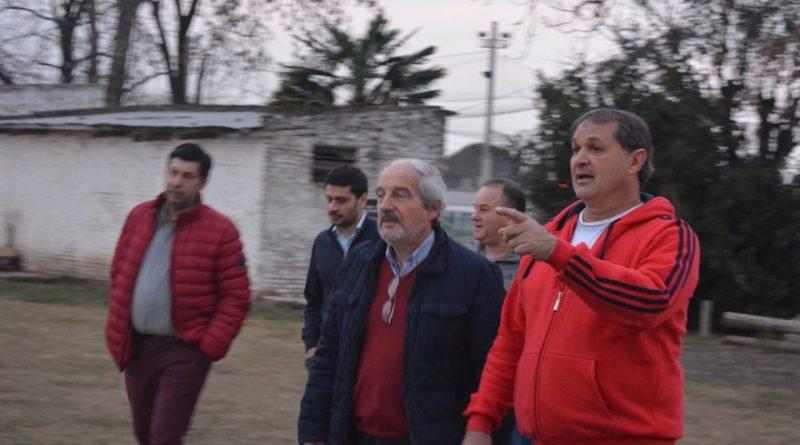 Ricardo Ciminelli en el club River.