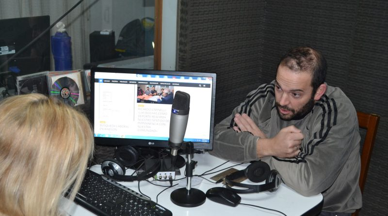 Damián Granados, candidato a concejal del Frente de Todos.