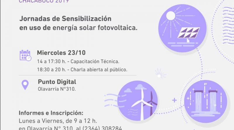 Capacitación sobre Instalación de Paneles Solares