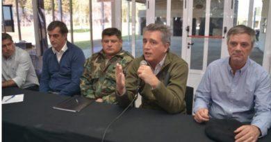 El ministro de Agricultura de la Nación estuvo presente en la reunión de productores