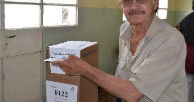 Con total normalidad se vota en Rawson