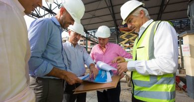El Gobierno renueva la estación Retiro del FFCC San Martín
