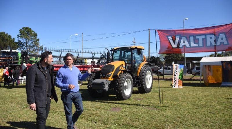 Aiola presente en la cuadragésima tercera Expo Rural Chacabuco