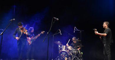 De izq. a derecha: Errante, Benaghi, Galante y Fagán.