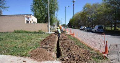 Comienzo de obra de extensión de red de gas en barrio Los Pioneros