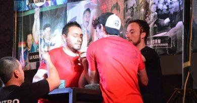 Primer torneo de Lucha de Brazos en Chacabuco