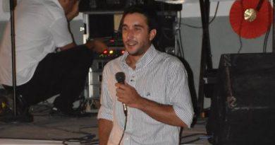 Guido Bidart, presidente del Club San Lorenzo de Rawson