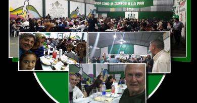 Golía en la cena anual del club San Martín