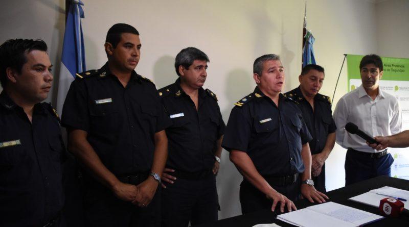 Policía Comunal: asumieron las nuevas autoridades