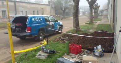 Fusionistas de BAGSA en Rawson