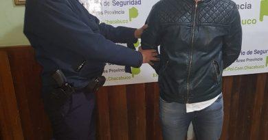 Chivilcoyano aprehendido en Chacabuco