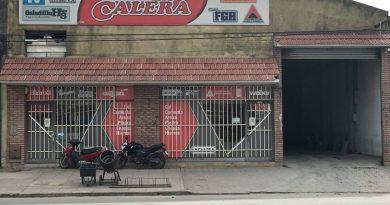 """Roban 150 mil pesos y cheques de comercio """"La Calera"""""""