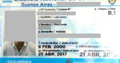 Comenzaron a regir las licencias de conducir en formato digital