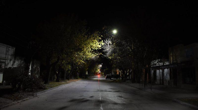 Programa de colocación de luminaria LED
