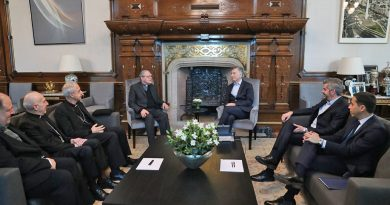 Los obispos se reunieron esta semana con Macri en la Casa Rosada Crédito: Presidencia