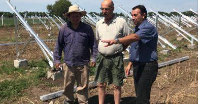 O'Higgins: Avance de obra del parque de energía alternativa