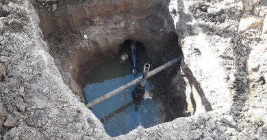 Atención: corte de suministro de agua