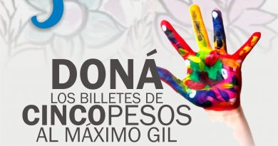 "Campaña solidaria: ""5 al Máximo"""