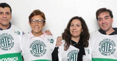 Lista Verde y Blanca ATE seccional Chacabuco