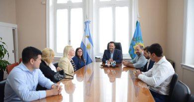 Aiola, junto a las autoridades de Seguridad del Municipio, y la Secretaría de Políticas Integrales sobre Drogas (SEDRONAR)