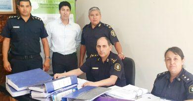 El Comisario Inspector Facundo Mantegazza en Chacabuco