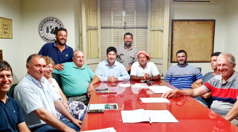 Seguridad: Reunión en la Sociedad Rural de Chacabuco