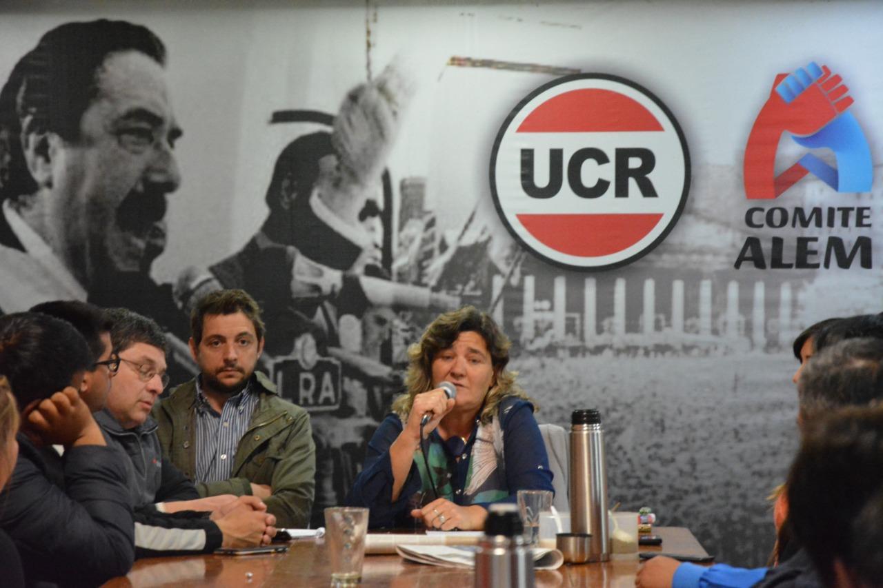Charla debate en el Comité Alem de la UCR