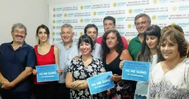 Barrientos junto a integrantes de la Red Nacional de Multisectoriales