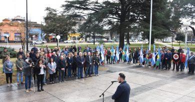 Acto por el 169º Aniversario del fallecimiento del General San Martín
