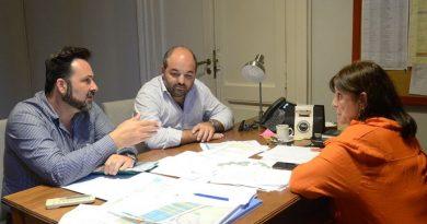 Aiola se reunió con la Ministra de Gobierno dónde analizaron diferentes temas referidos a nuestro distrito