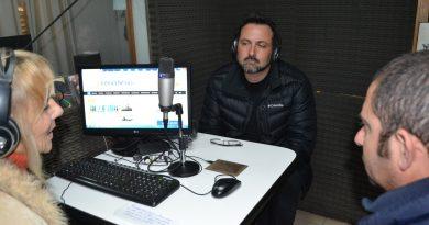 Aiola y Gómez en la Radio de Rawson