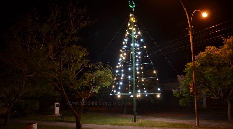 El Árbol de Navidad en Plazoleta Guillermo Rawson