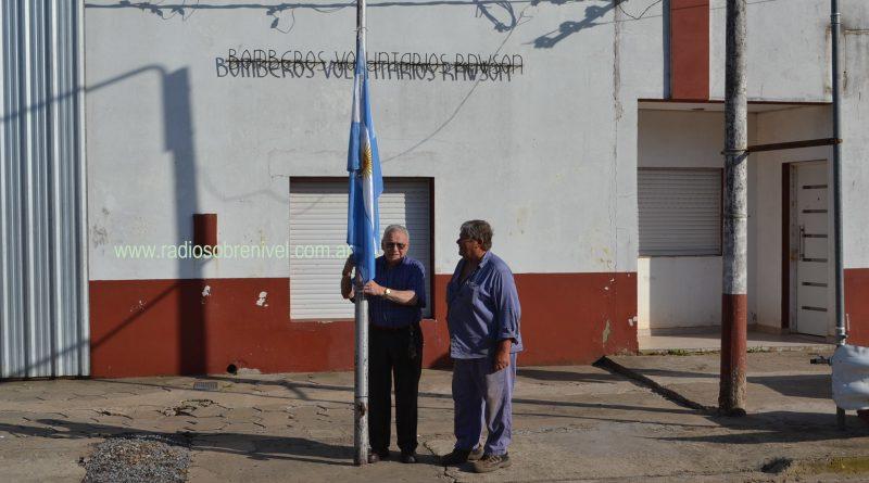 Izamiento de la Bandera Nacional