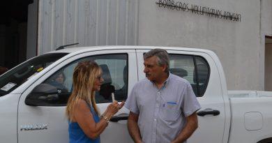 Aimoré Papini durante la entrevista con Mónica del Castillo