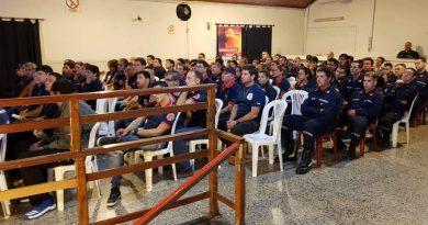 Asistentes a la charla-curso en Bragado.