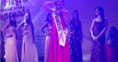 Brighitte Quintana, elegida 2º Princesa en la Fiesta de la Empanada