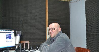 Dr. Sergio Buchamer en la Radio de Rawson
