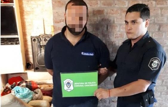 Camionero detenido en Chacabuco