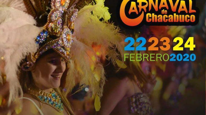 Se vienen tres noches de carnaval en Chacabuco