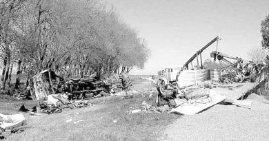 Imagen del accidente, del que se cumplen 20 años