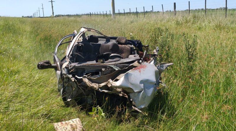 Imagen del auto que conducía la mujer