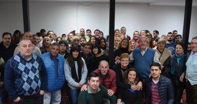 El Frente Renovador manifestó su acompañamiento a la lista que encabeza Ricardo Ciminelli.