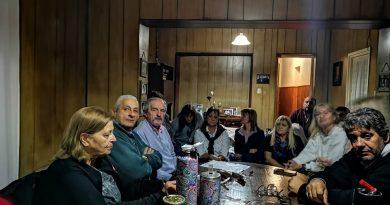 """Ricardo Ciminelli: """"En la educación está el futuro de Chacabuco""""."""