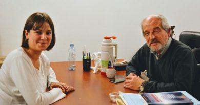 Ricardo Ciminelli se reunió con Julieta Garello