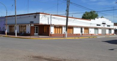 Sede social del Club San Lorenzo de Rawson