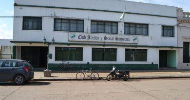 Sede social del Club Sarmiento de Rawson