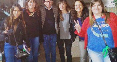 Referentes de UC en la Universidad de Quilmes.