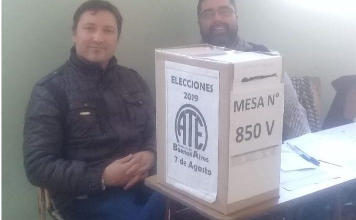 Elecciones de ATE. Ganó Calarco.